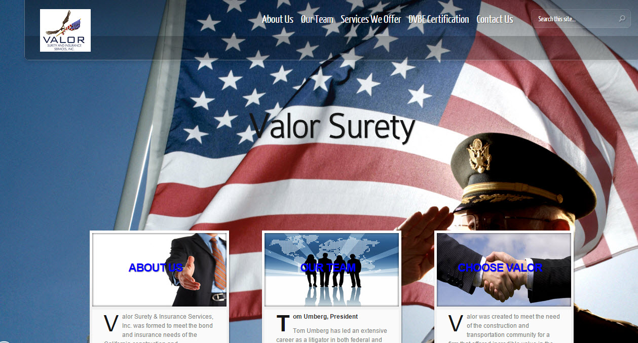 Valor Surety and Insurance Services